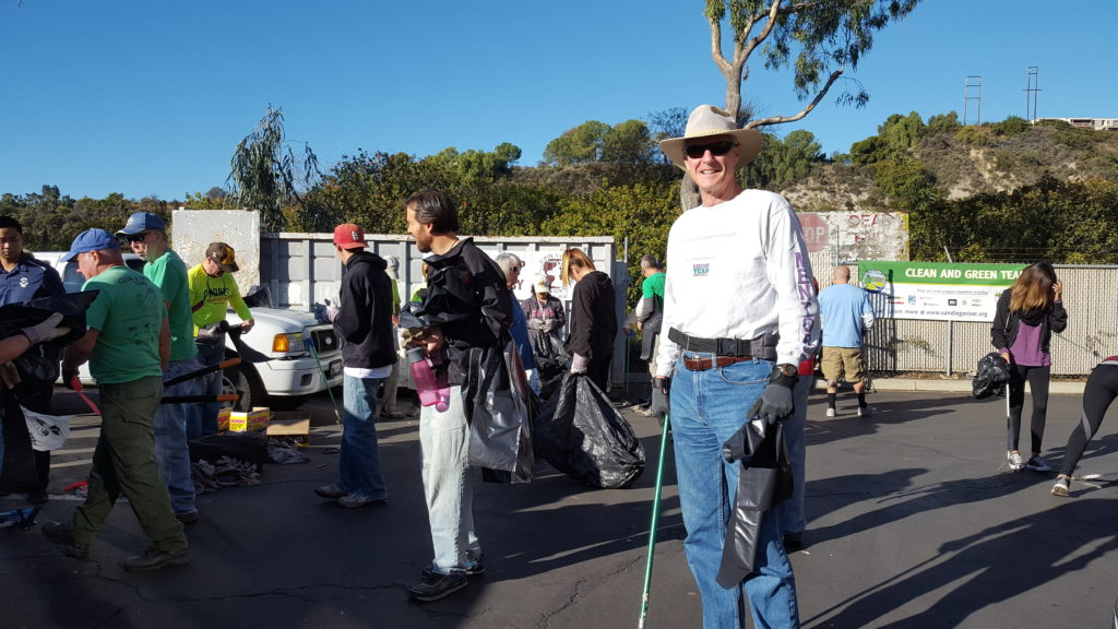 San Diego River Cleanup