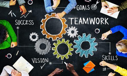 Teamwork Cog Shutterstock